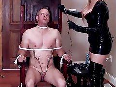 Elastrator castration play porn