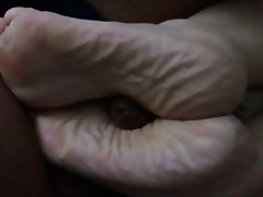 Amateur, BBW, Cumshot, Foot Fetish
