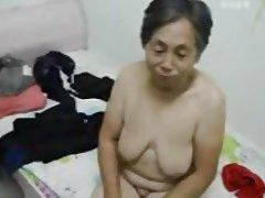 Amateur, Asian, Granny