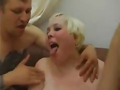 Big Boobs, Granny, Old and Young, Threesome