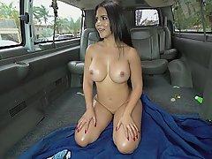 Boobs, Car, Bus, Teen