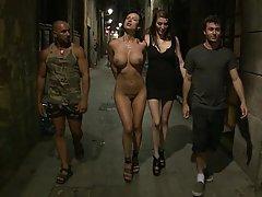Anal Fisting, BDSM, Brunette, Black