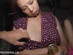 Asiáticas, Nenas, Mamada, Disparo de Corrida