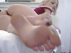 Foot Fetish, Masturbation, Squirt