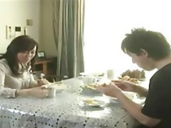 Cumshot, Japanese, MILF, Old and Young