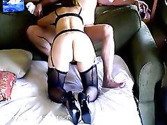 Blowjob, Stockings, Amateur