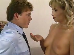Blonde, Cumshot, German, Vintage