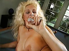Blonde, Mature, Big Boobs, Foot Fetish
