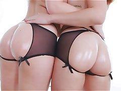 Anal, Big Butts, Lesbian, Redhead
