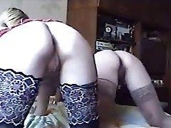 Group Sex, Russian, Swinger, Stockings