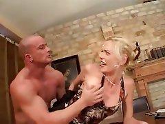 Anal, Blonde, Blowjob, Lingerie