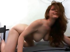 Big Boobs, Masturbation, Redhead