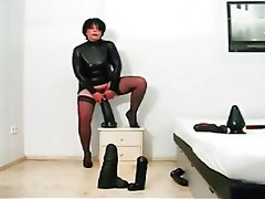 Latex, Masturbation, Orgasm